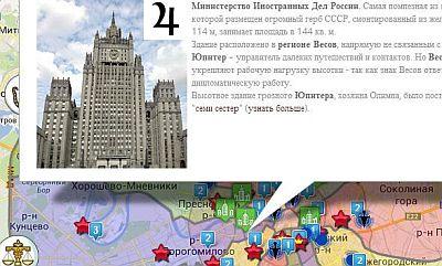 Астрокарта Москвы - дополненная
